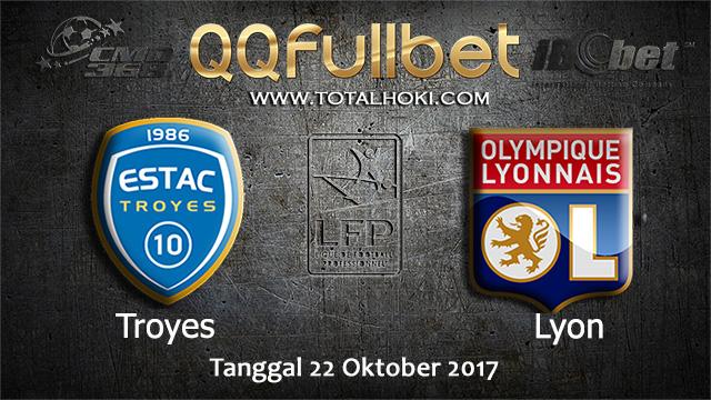 PREDIKSIBOLA - PREDIKSI TARUHAN BOLA TROYES VS LYON 22 OCTOBER 2017 (LIGUE 1)
