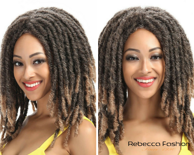 Rebecca Fashion - Dreadlocks Hair Brazilian Human Hair