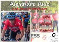 Alejandro Ruiz, del Club Ciclista Crevillent, temporada 2017