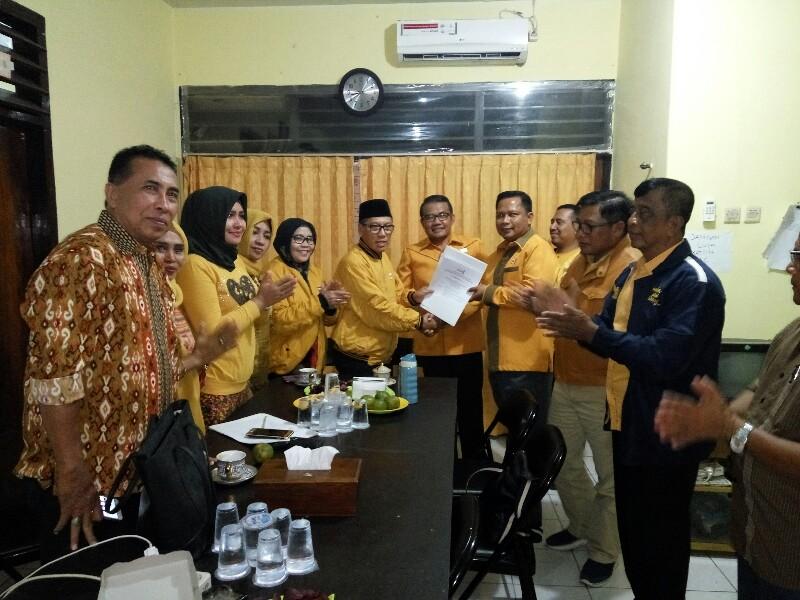 SK Hanura Mendarat di Tangan Mawardi