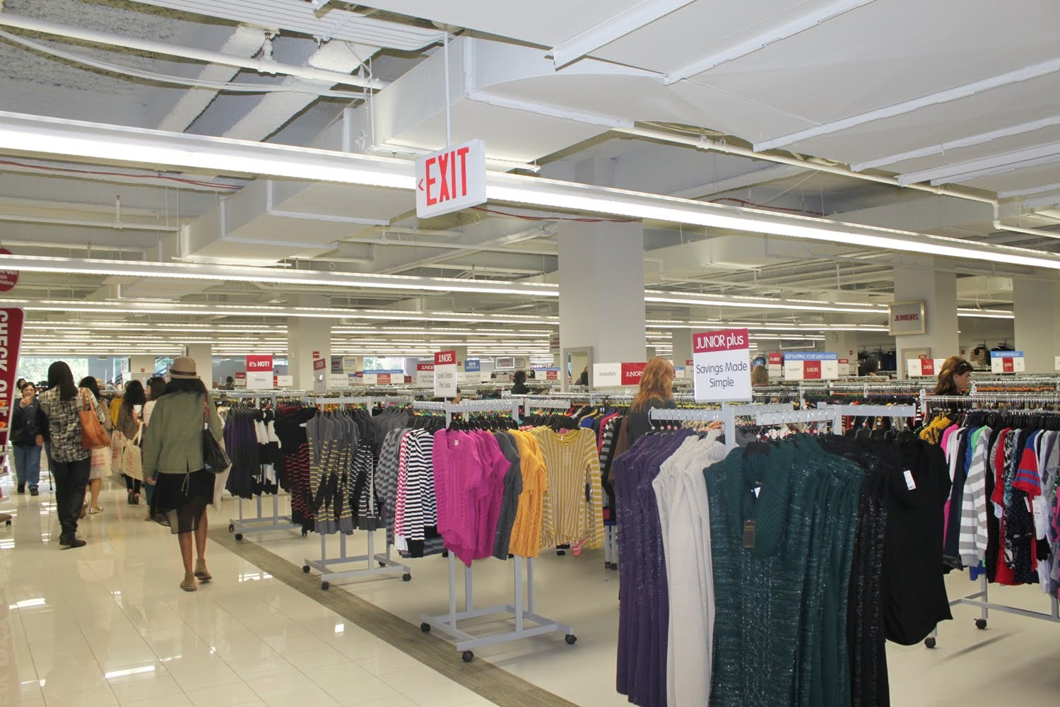 Burlington Coat Factory Nyc Flagship Store Opening Preview My Life