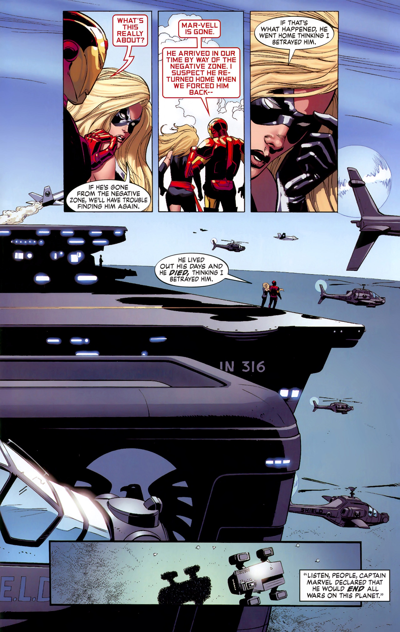 Read online Secret Invasion: The Infiltration comic -  Issue #6 - 17