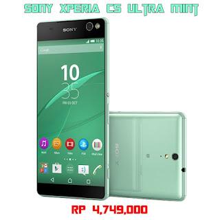 Sony Xperia C5 Ultra Mint