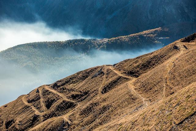Mountainbiken in den Westalpen