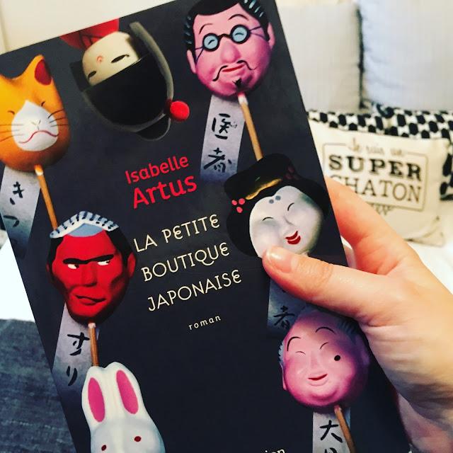 Chronique littéraire La petite boutique Japonaise par Mally's Books