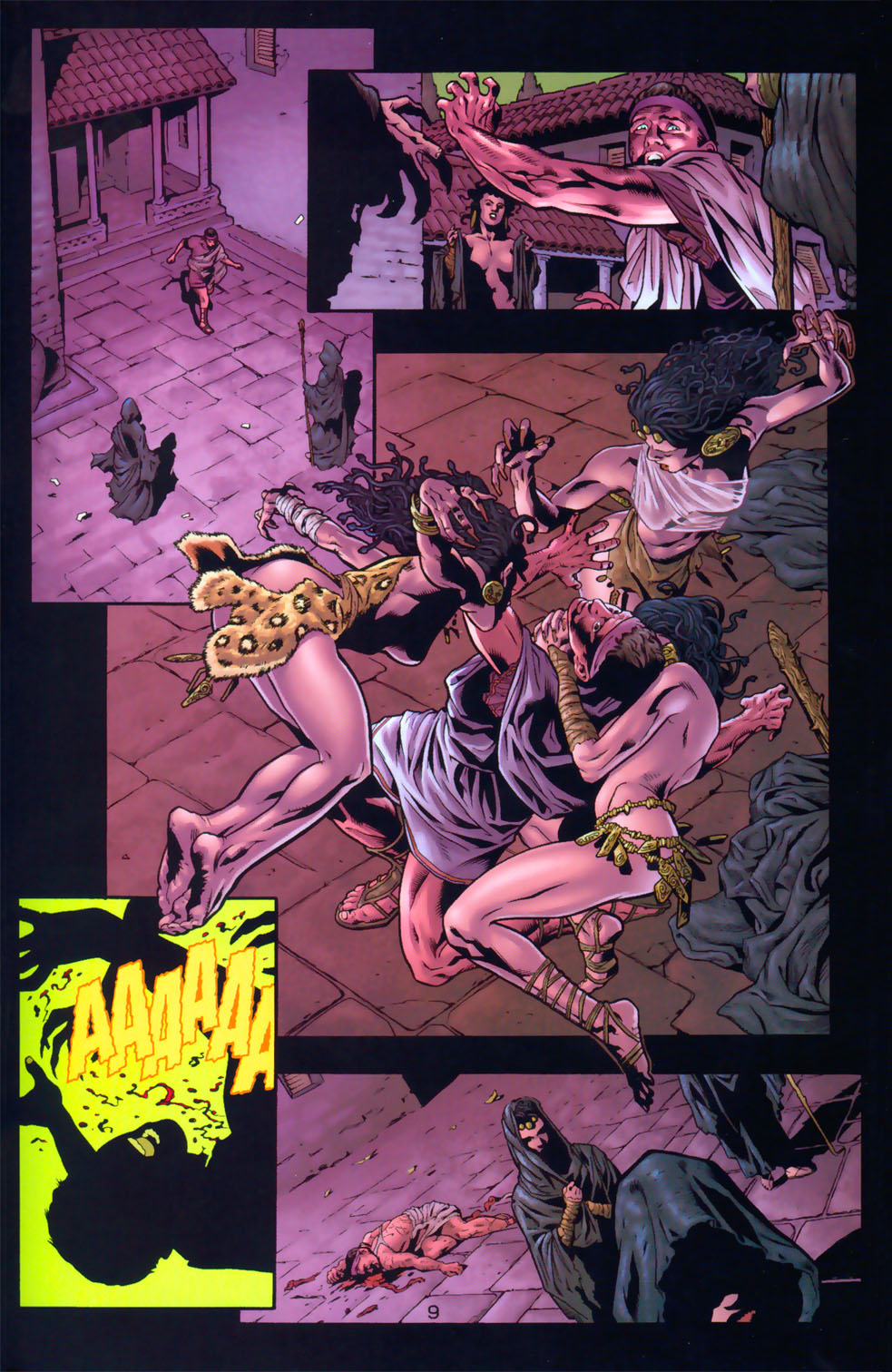 Read online Wonder Woman: The Hiketeia comic -  Issue # Full - 16