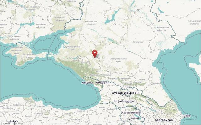 The Caucasus area
