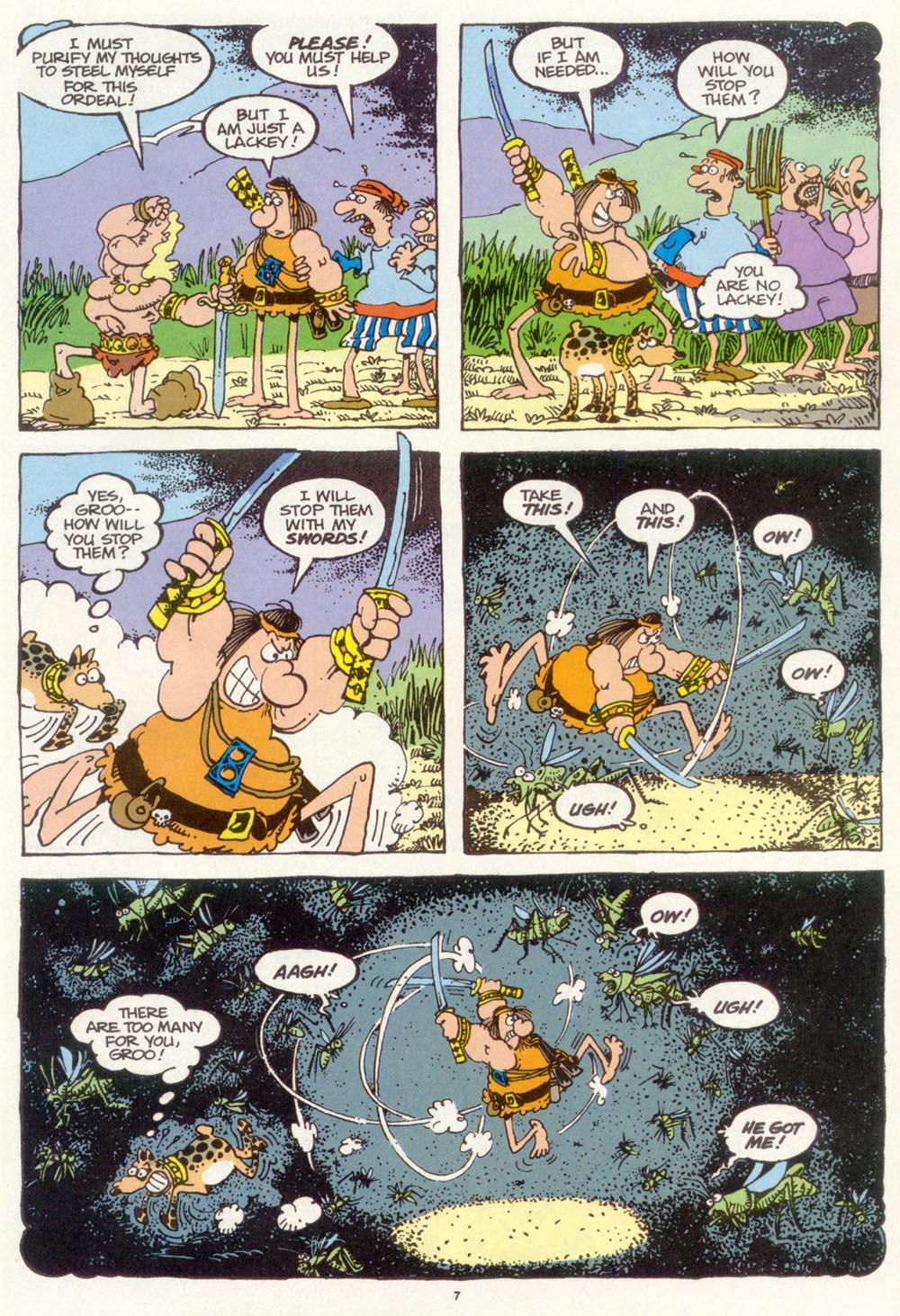 Read online Sergio Aragonés Groo the Wanderer comic -  Issue #97 - 8