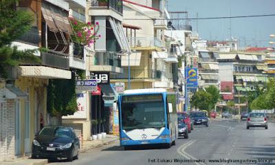 Mercedes Citaro w greckiej miejscowości Larissa