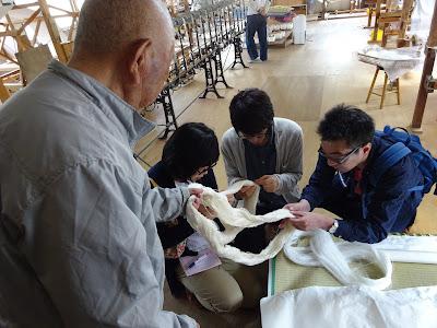 加藤改石さん直々に説明をしていただいたりしてとても勉強になりました。