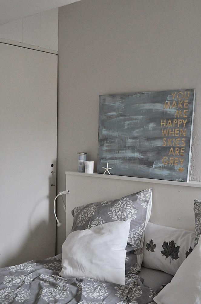 Schlafzimmer einrichten dekoration kerzen bilder