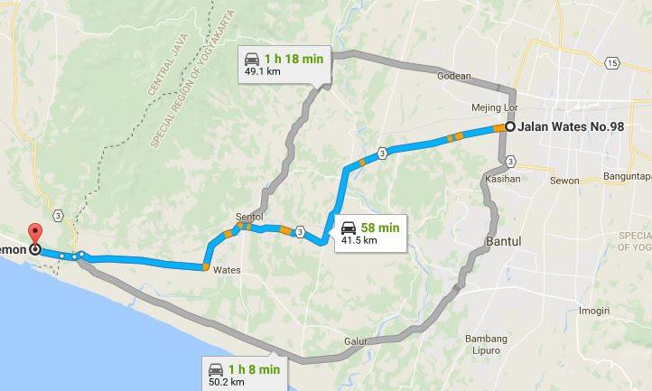 Perjalanan Pulang Melalui Jalur Daendels