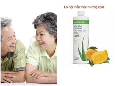 Sử dụng Herbalife là giải pháp dinh dưỡng cho tuổi già