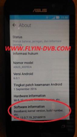 bypass email verifikasi ASUS_X009DA (ZB450KL) Tahap 9
