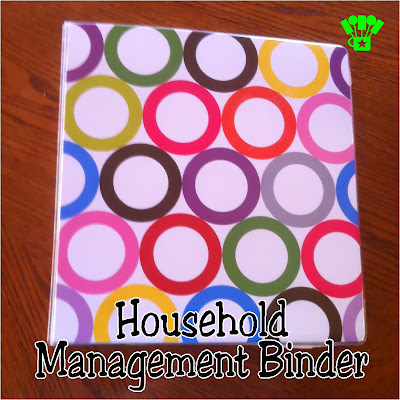 Household Management Binder at Kims Kandy Kreations