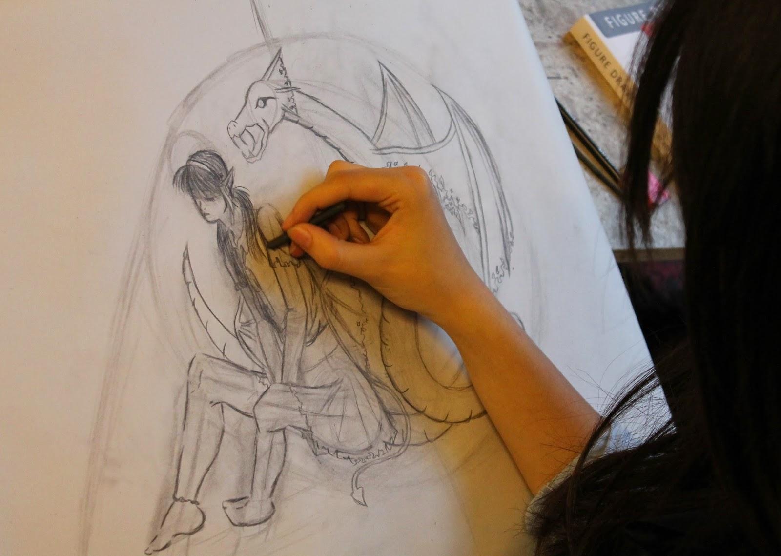 character design, concept art, elf tekenen, fantasy tekenen, figuren tekenen, game art, klassiek tekenen, model studie, model tekenen, NHTV, photoshop, realistisch tekenen, tekenles, tekenlessen,