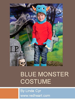 http://www.redheart.com/free-patterns/blue-monster-costume