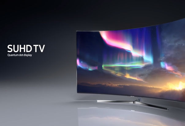 Samsung SUHD TV Deals - seamless, sleek design and clean lines extends throughout the display
