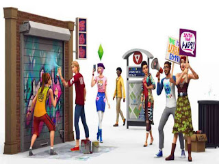 The Sims 4 City Living PC Game Free Download
