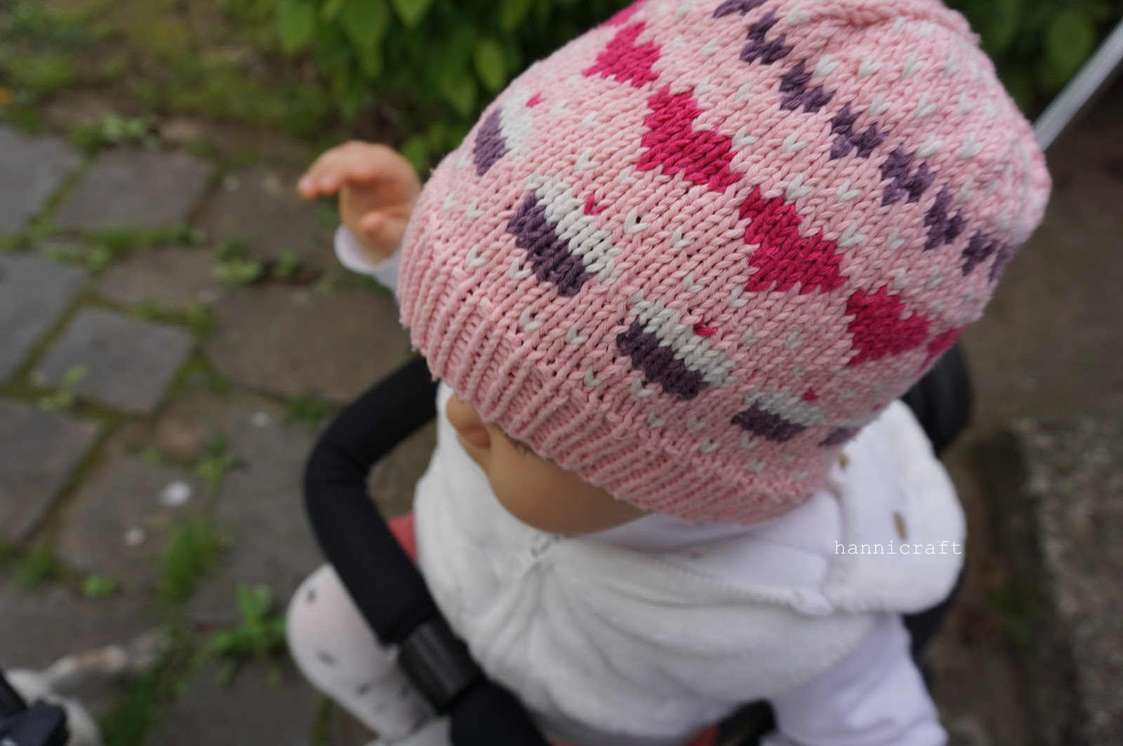 Hannicraft: Hearts and Cupcakes Girls Hat Pattern