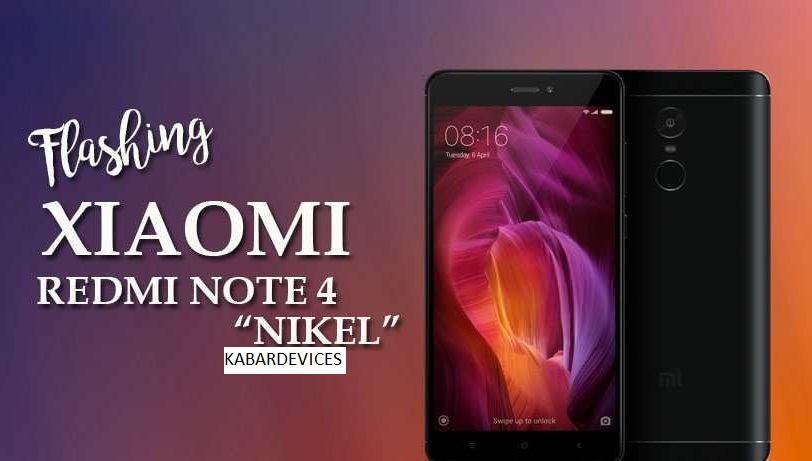 After the previous article we share about the file firmware or ROM MIUI Xiaomi Redmi Note  How to Flashing / UnBrick Xiaomi Redmi Note 4 MTK (Mediatek) Nikel