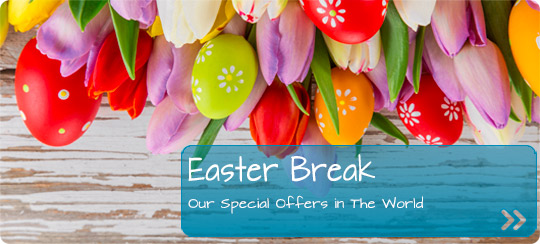 Find your hotel for Easter