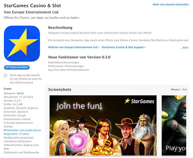 iPhone App im Appstore