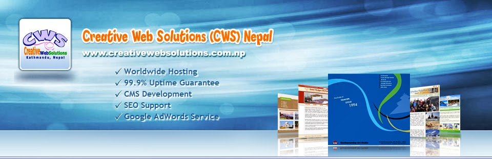 Creative Web Solutions (CWS), Nepal