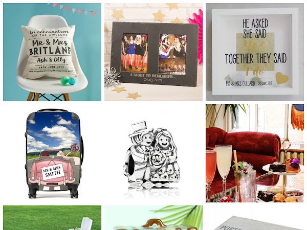 Wedding Wednesday: Wedding Gifts to Help Them Say I Do
