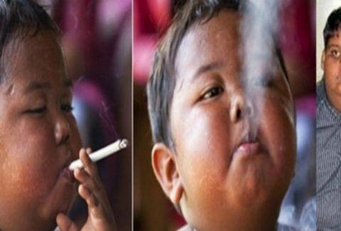 Θυμάστε το δίχρονο αγοράκι που κάπνιζε 40 τσιγάρα την ημέρα; Δείτε πώς είναι σήμερα! (PHOTOS)