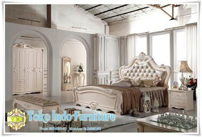 Tempat Tidur Mewah Ukiran Desain Italian 01
