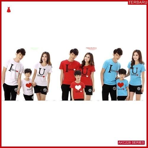 AKC228K70 Kaos Couple Baju Anak 228K70 Keluarga Family BMGShop