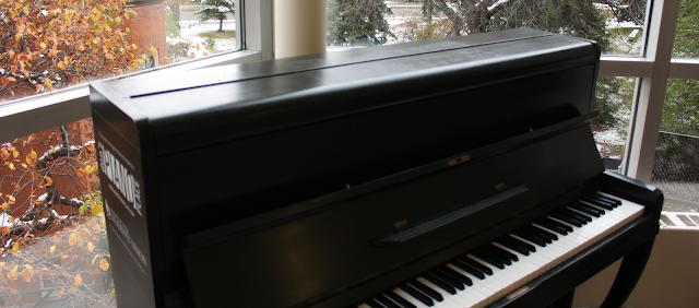 Pianos around Campus