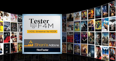 How To Install  F4M Tester On KODI