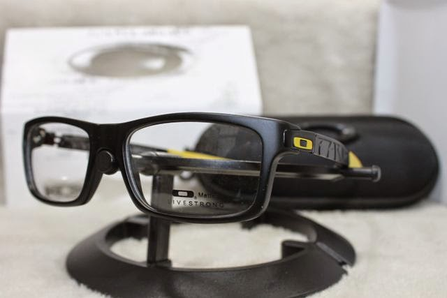 warna   black yellow. Kacamata Frame Oakley Currency 835270f20e
