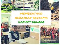 Membentang Kebaikan Bersama Dompet Dhuafa