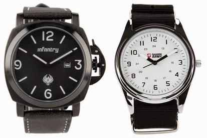 Model jam tangan pria elegan terbaru dan modern 2015