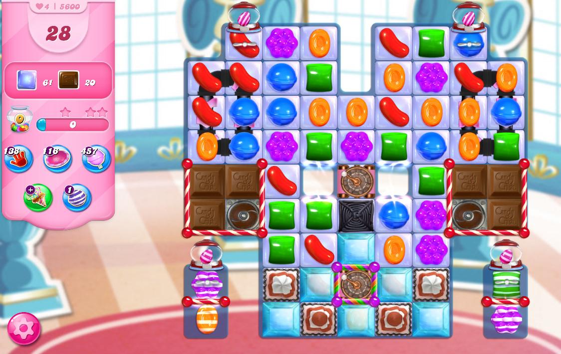 Candy Crush Saga level 5600