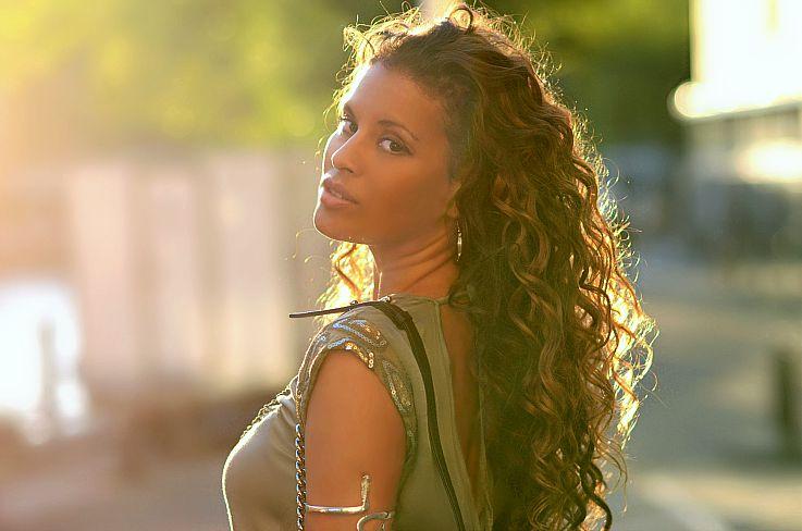 Tamara Chloé, Brazilian Blowout, Curly hair, Bronde haircolor, Ombre