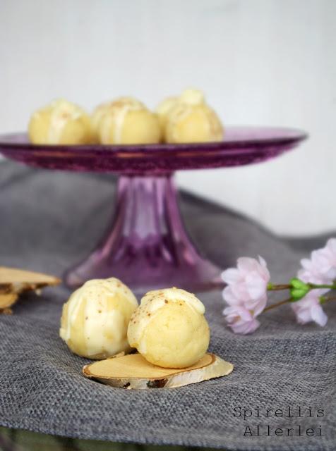 Spirellis Allerlei - Kuchen Pralinen mit weißer Schokolade