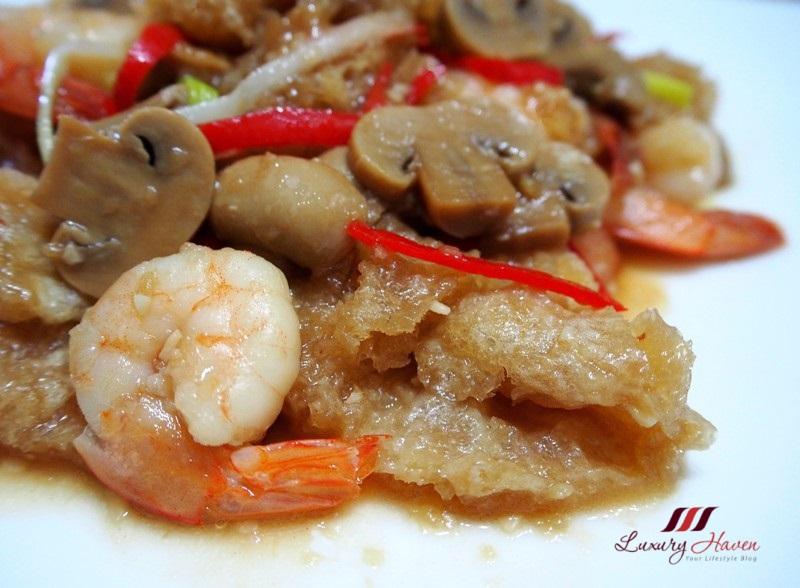 teochew stir fried fish maw with prawns recipe