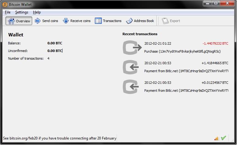 bitcoin qt esporta la chiave privata