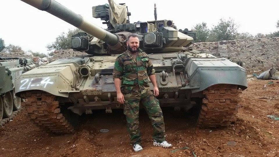 El tanque ruso T-90 1