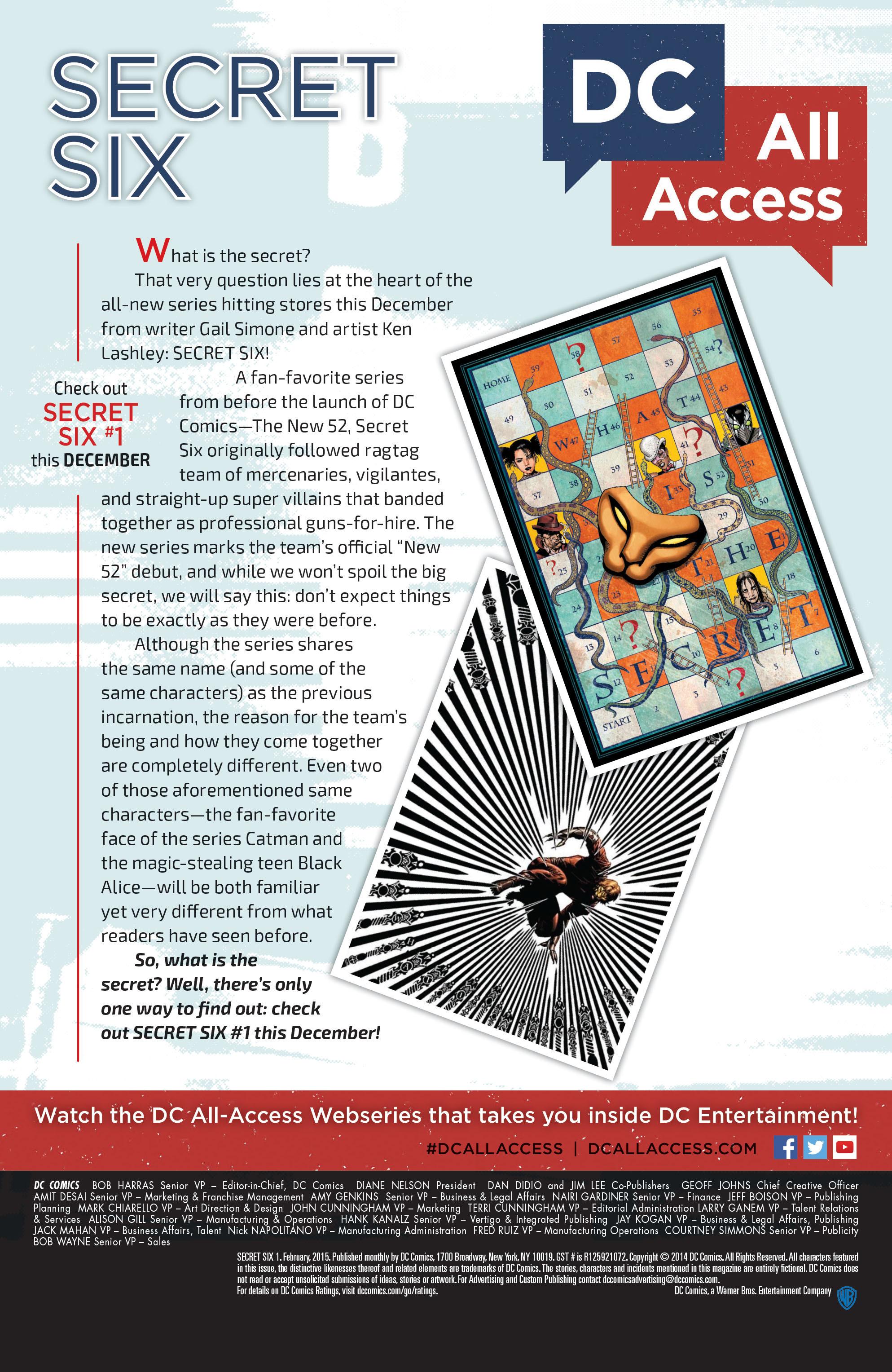 Read online Secret Six (2015) comic -  Issue #1 - 23