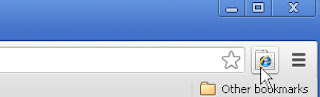 IE Tab icon button
