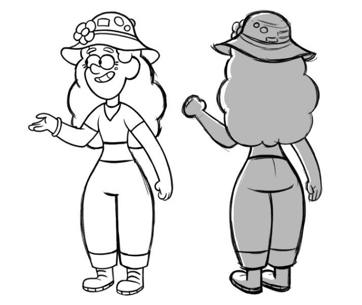Dibujos De Gravity Falls Para Colorear Y Pintar