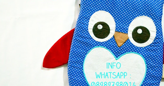 Owl Backpack For Neisha Birthday {GoodyBag}