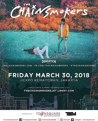 The Chainsmokers show di jakarta