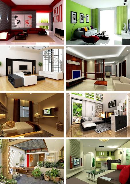 Bentuk dekorasi rumah minimalis