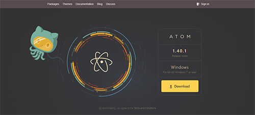 text editor atom